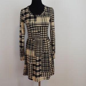 MOA MOA geometric print dress size medium